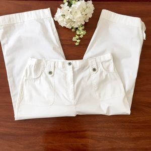 JM Collection Capri Crop Pants